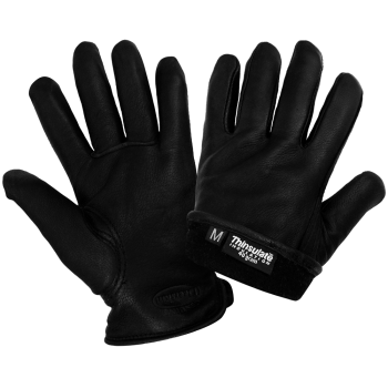 Insulated Premium Deerskin Leather Gloves-Global Glove