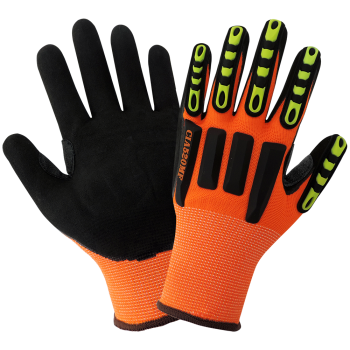 Vise Gripster - High-Visibility Impact Protection Gloves-Global Glove