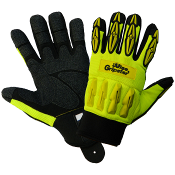 Vise Gripster - High-Visibility TPU Impact Resistant Gloves-Global Glove