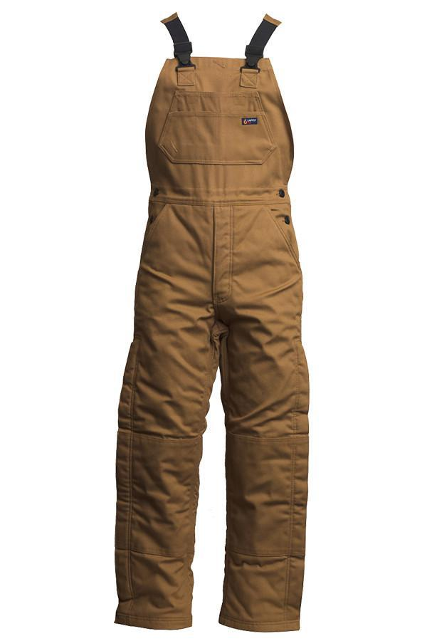 Lapco 12oz. Insulated FR Bibs | Winter Bib Overalls | 100% Cotton Duck-LAPCO