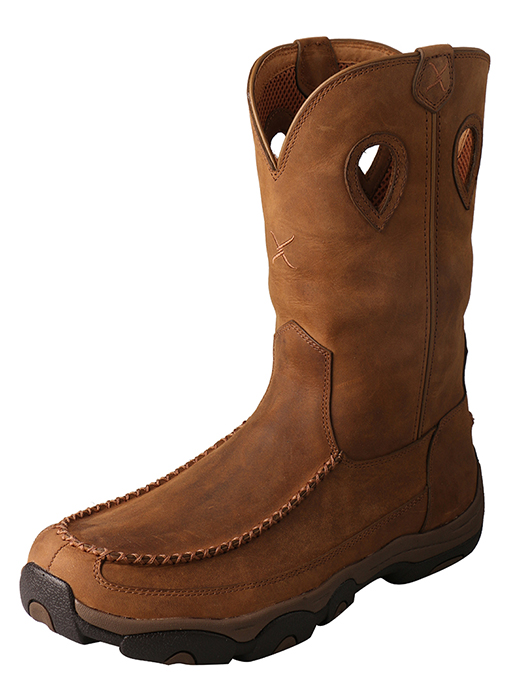 Men's Hiker Boot – Distressed Saddle/Saddle – Waterproof/Composite Toe-Twisted X