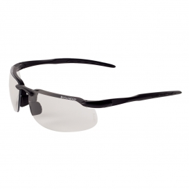 Bullhead BH10613 Swordfish Safety Glasses - Black Frame - Photochromic Lens-Bull Head Safety Glasses