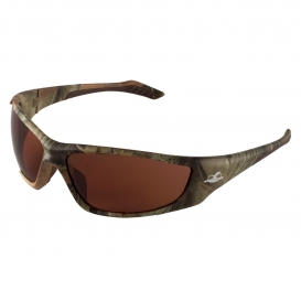 Bullhead BH12108 Javelin Safety Glasses - Camo Frame - Brown Lens-Bull Head Safety Glasses