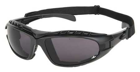 Hornet DX, Gray anti-fog lens, removable strap, replaceable foam insert-MCR Safety