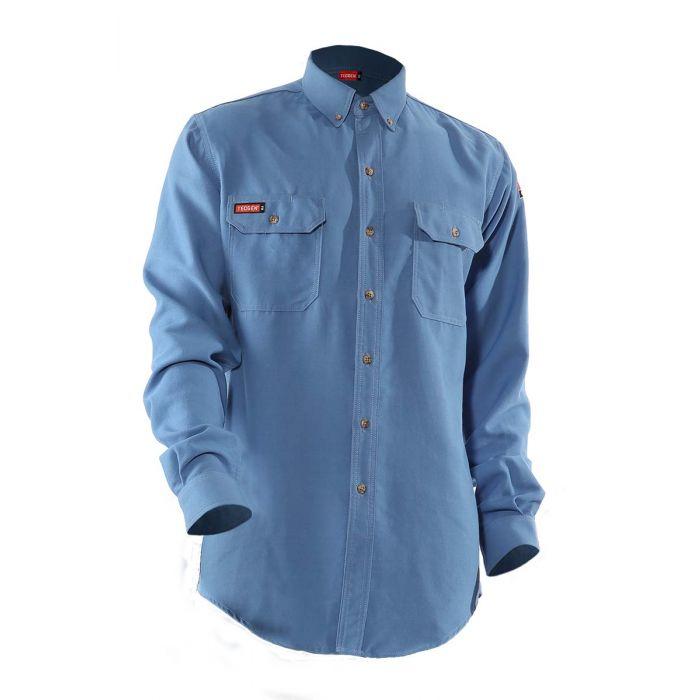 TECGEN FR Premium Vented Shirt-National Safety Apparel