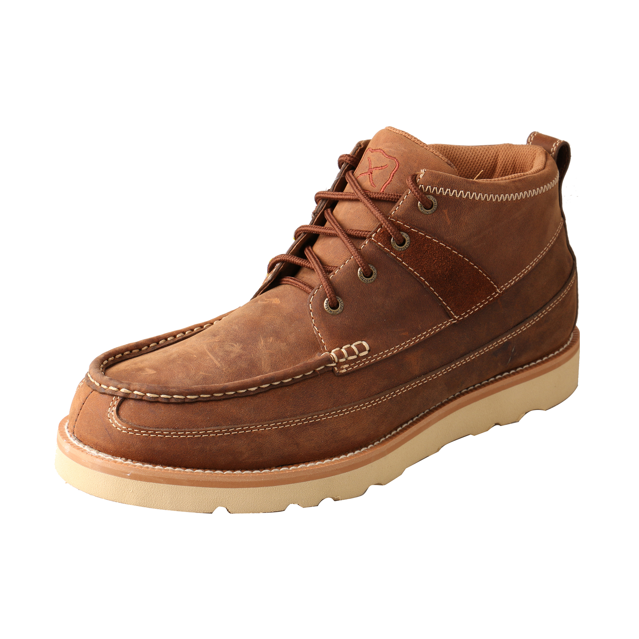 Men's Casual Shoe – Oiled Saddle-Twisted X