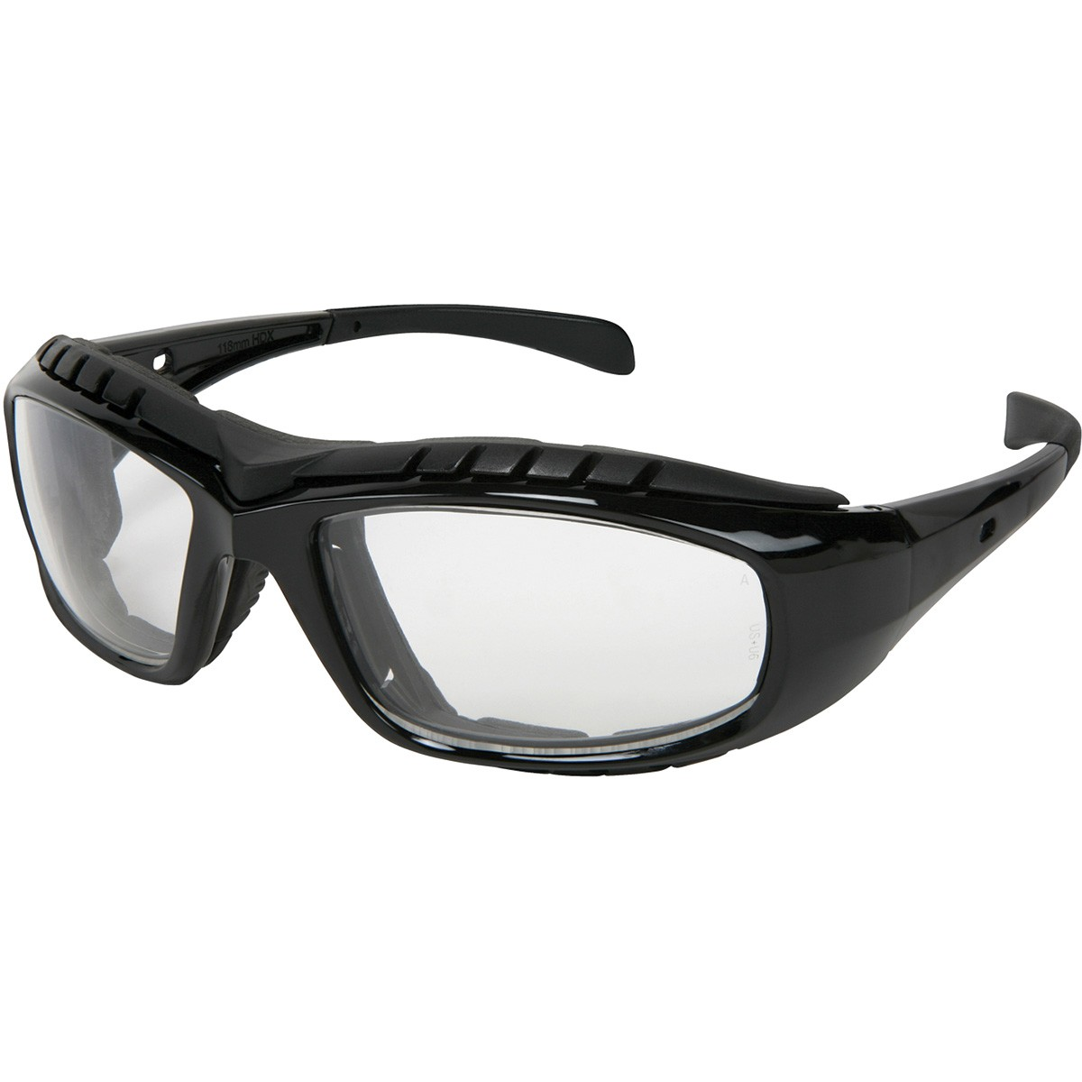 HDX1 Series, Clear anti-fog lens, removable strap, replaceable foam insert-MCR Safety