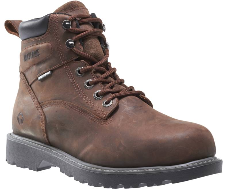 "MEN'S FLOORHAND WATERPROOF 6"" WORK BOOT-Wolverine"