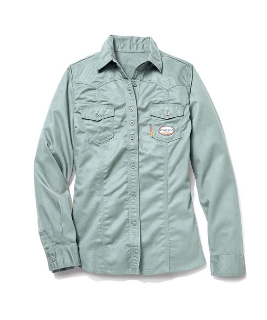 Women's Work Shirt with Buttons-