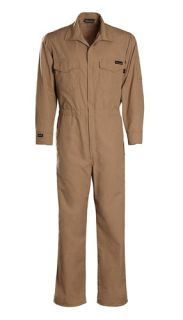 124GG53 5.3 oz. GlenGuard Industrial Coverall-Workrite FR