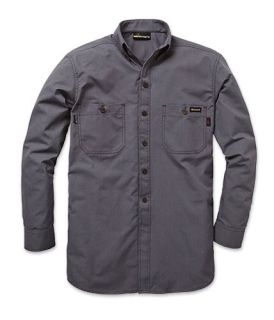 5.3 oz. GlenGuard Snap-Front Shirt-Workrite FR