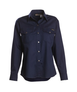 7 oz Ultra Soft Long Sleeve Women's Western-Style Shirt