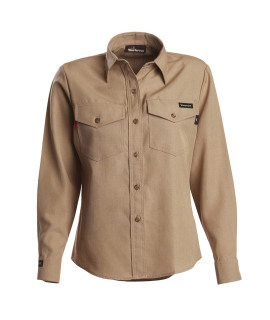 4.5 oz Nomex IIIA Long Sleeve Women's Utility Shirt