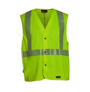 6 oz. GlenGuard Hi-Vis Mesh Vest-