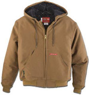 Dickies Industrial Outerwear 11 oz. UltraSoft Hooded Jacket-Dickies