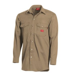 7 oz. Amtex Blend Snap-Front Shirt-