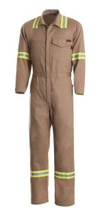Workrite FR Industrial Coveralls & Bibs 7 Ult Work Coverall w/Tape-Workrite FR