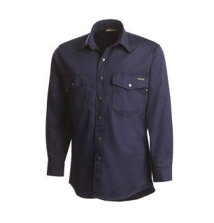 Workrite FR Industrial Shirts 7 Ind Western Shirt-Workrite FR