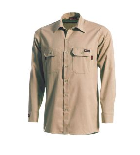 5.5 oz UltraSoft Long Sleeve Work Shirt Chambray-