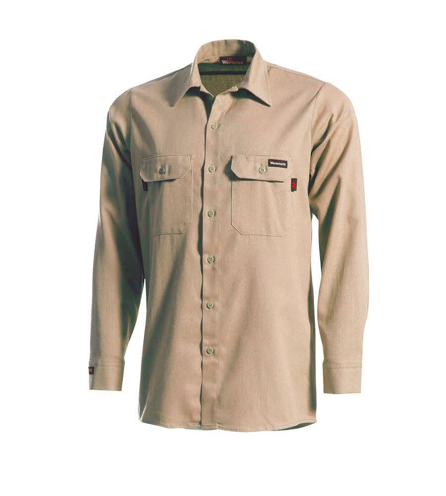 890df9877879 Buy 5.5 oz UltraSoft Long Sleeve Work Shirt Chambray - Workrite FR ...