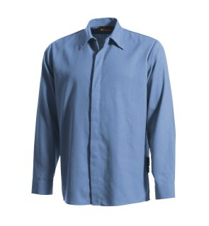 7 Ult Gripper Work Shirt Md Bl-Workrite FR