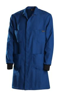 4.5 oz. Nomex IIIA Lab Coat With Knit Cuffs-