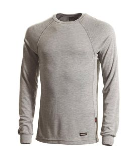 6.7 Tecasafe Knit T-Shirt Ls H.Gray-