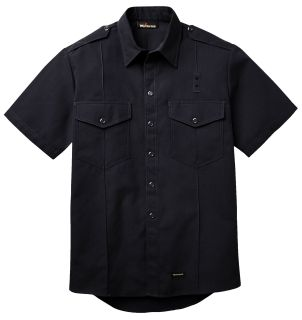 4.5 oz. Nomex IIIA Fire Chief Shirts Short Sleeve-Workrite Fire Service
