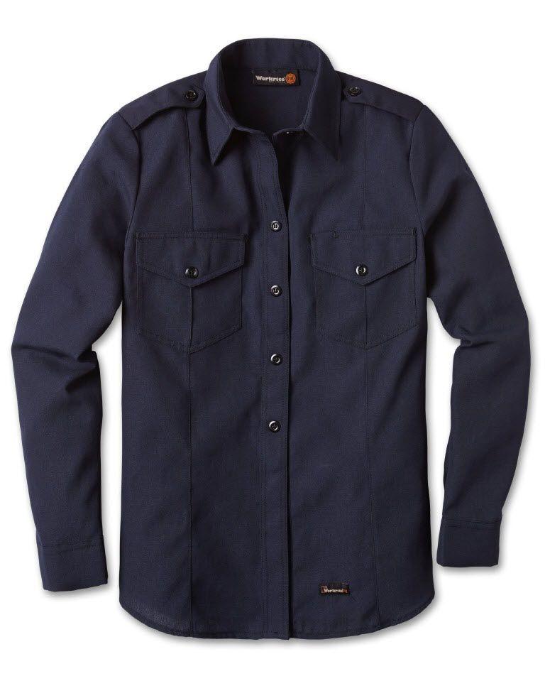 716NX45 4.5 oz. Nomex IIIA Womens Fire Chief Shirt-
