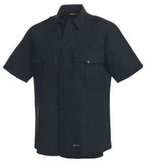 Workrite Fire Service Industrial Shirts 4.5 oz. Nomex IIIA Short-Sleeve Fire Officer Shirt-Workrite Fire Service