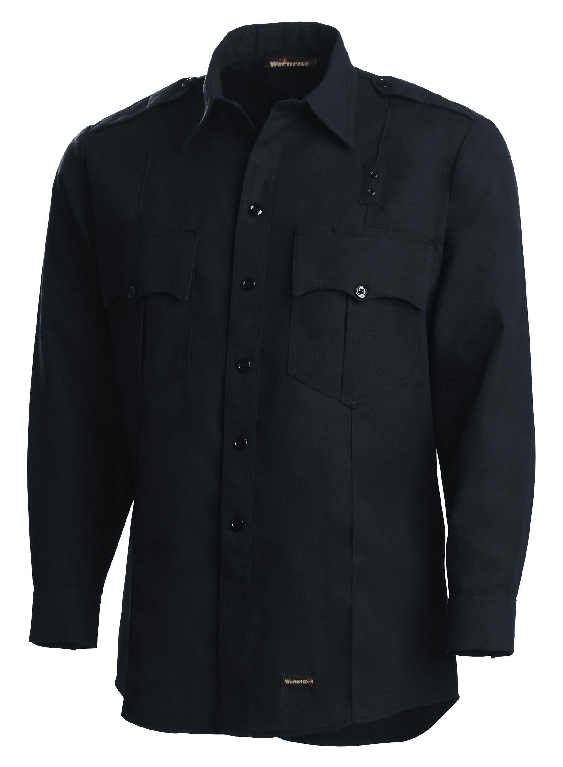 4.5 oz. Nomex IIIA Long-Sleeve Fire Officer Shirt-Workrite Fire Service