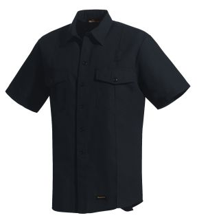 Workrite Fire Service Industrial Shirts 4.5 oz. Nomex IIIA Short-Sleeve Firefighter Shirt-Workrite Fire Service