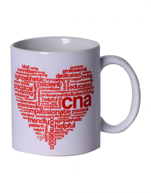 CNA Heart Mug -