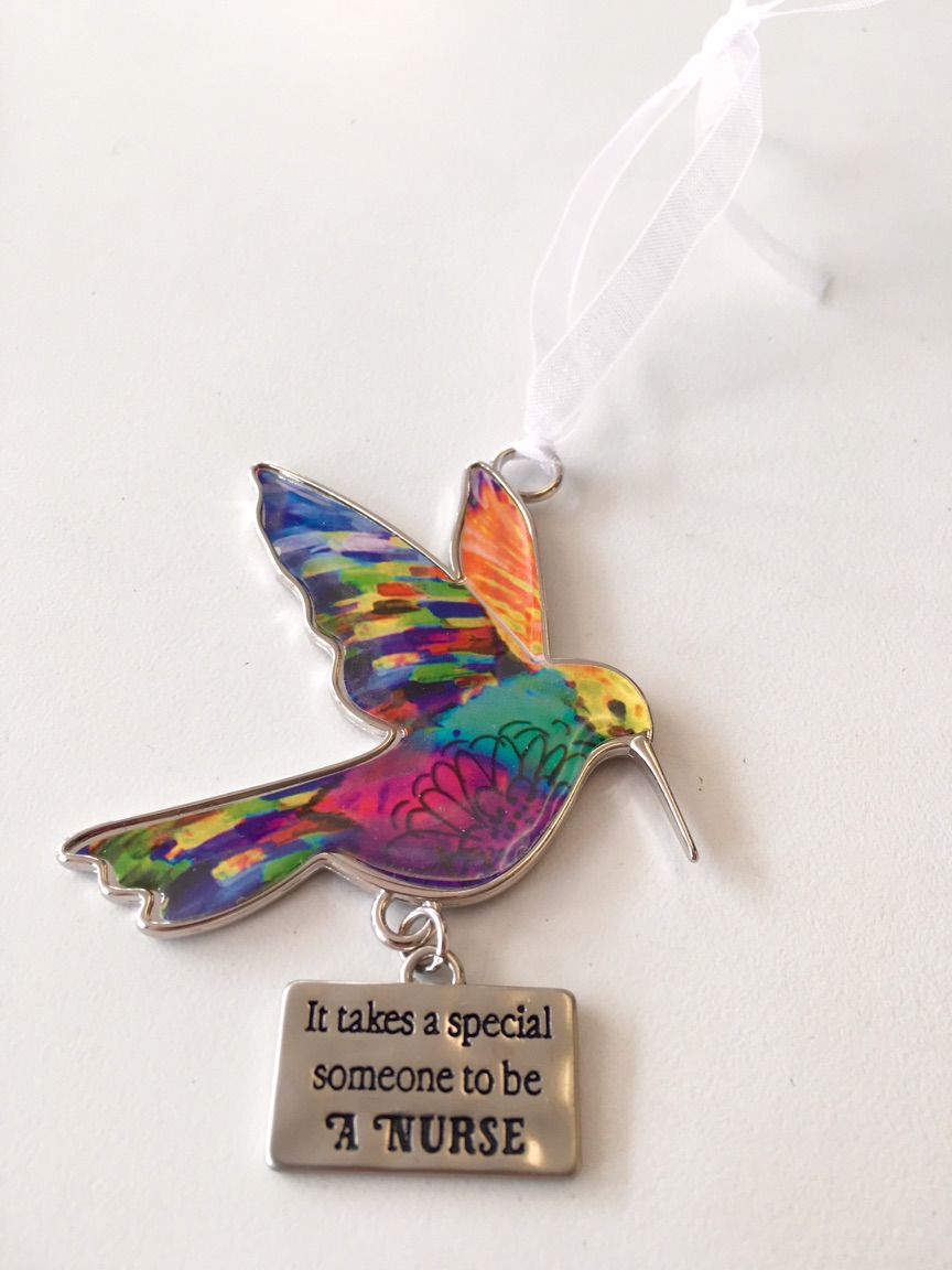 Hummingbird Ornament -Ganz