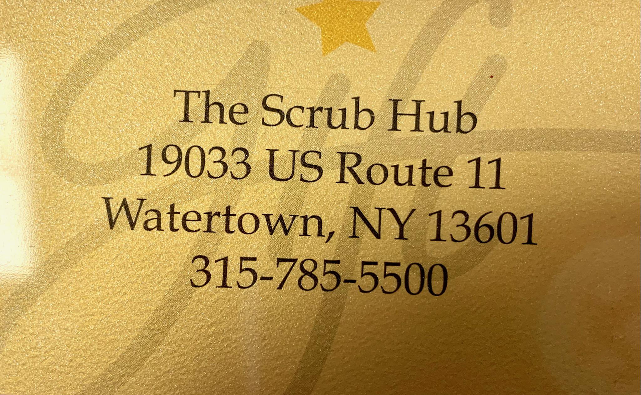 Gift Card $50-The Scrub Hub