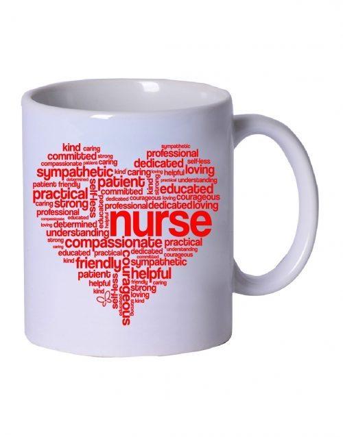 Nurse Heart Mug -Cutieful