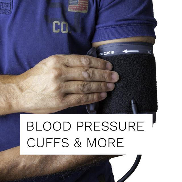 Blood Pressure Cuffs/Monitors/Pulse Oximeters
