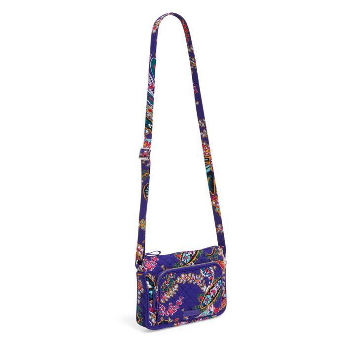 Vera Bradley Iconic RFID Little Hipster-Vera Bradley Bags