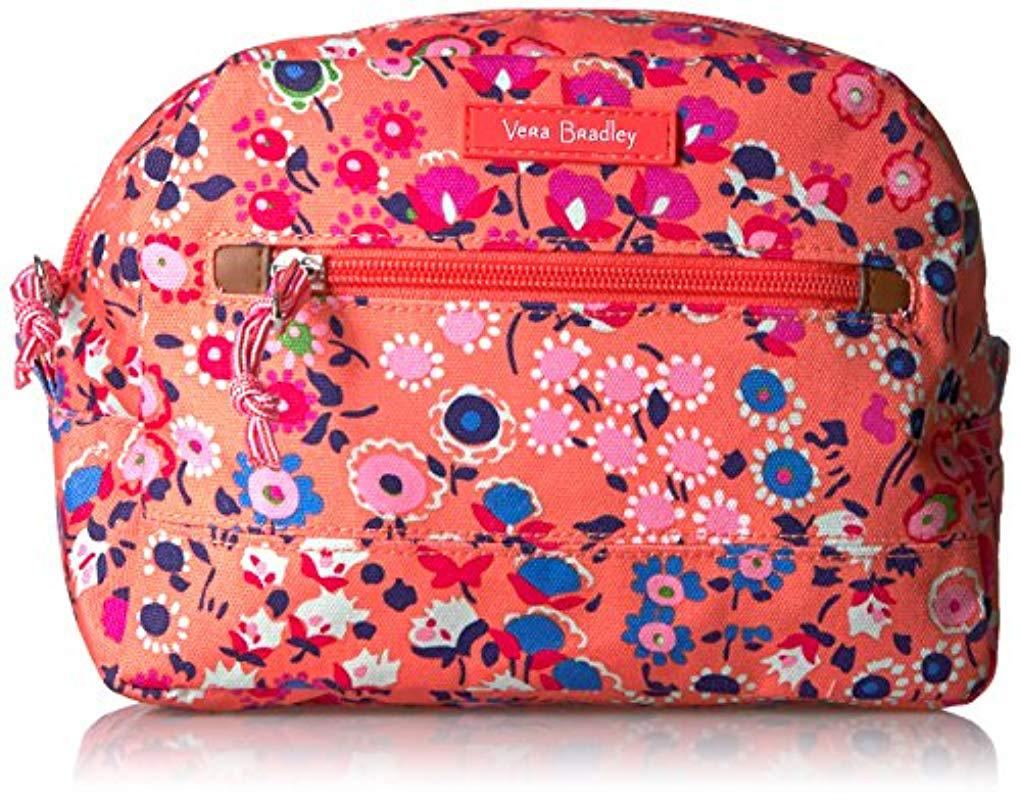 Vera Bradley Lighten Up Medium Cosmetic-