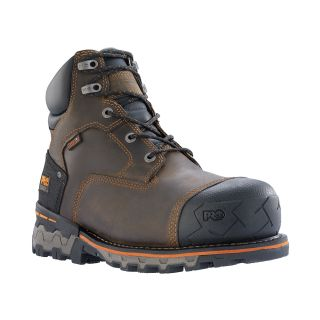 "Mens Timberland Pro Boondock 6"" Comp Toe Work Boots-"