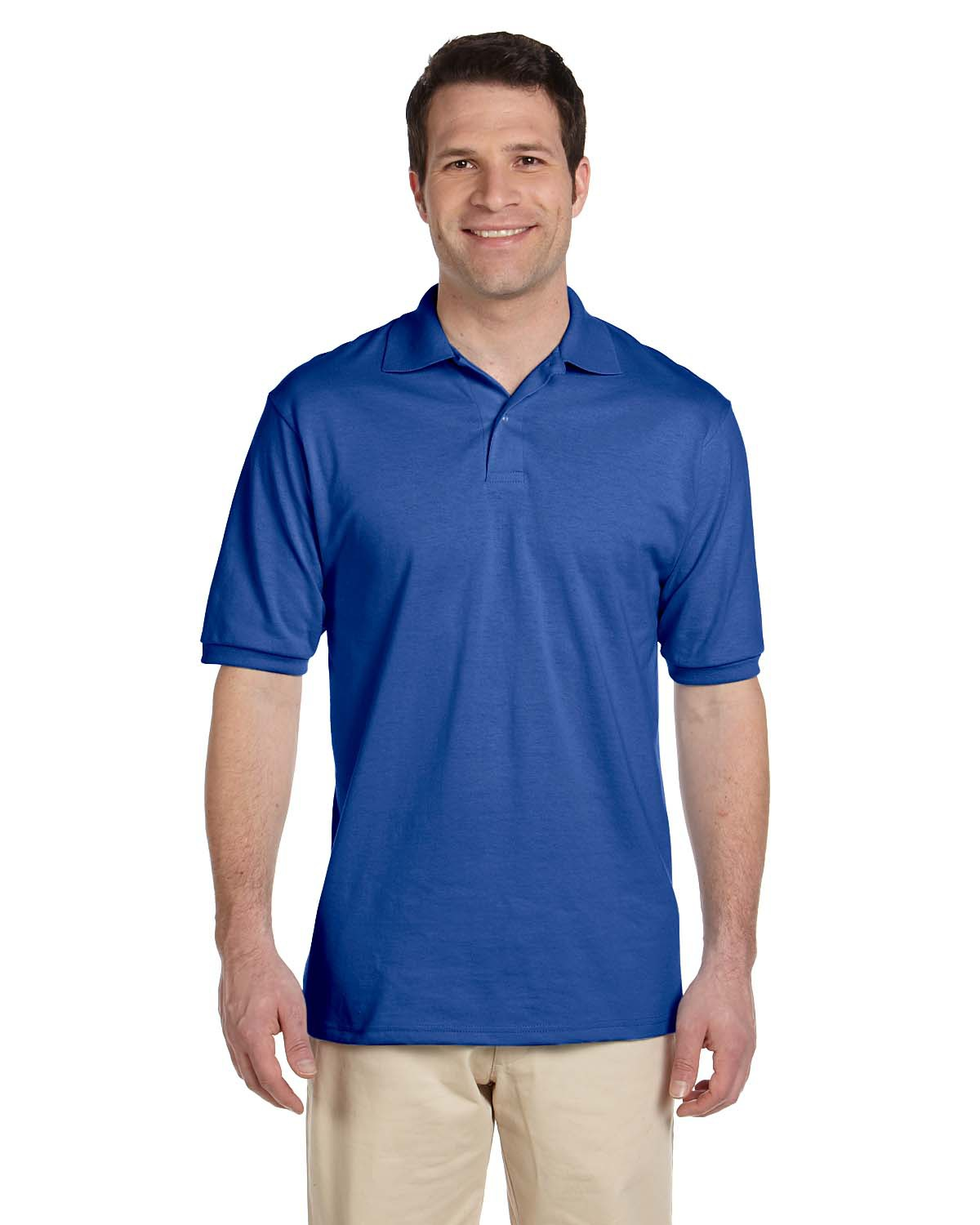 Adult 5.6 Oz. Spotshield™ Jersey Polo-Jerzees