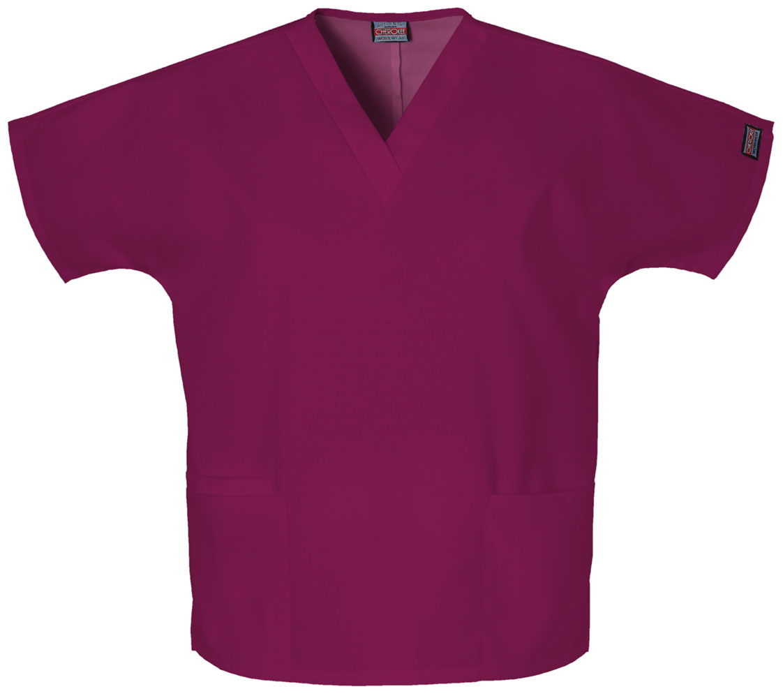 Ladies V Neck Scrub Top-Cherokee Medical