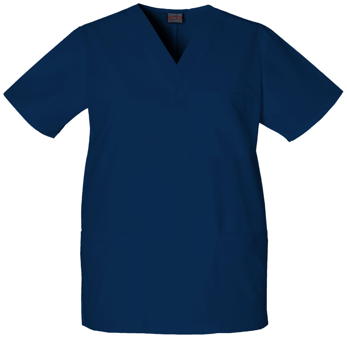 Unisex V Neck Scrub Top-