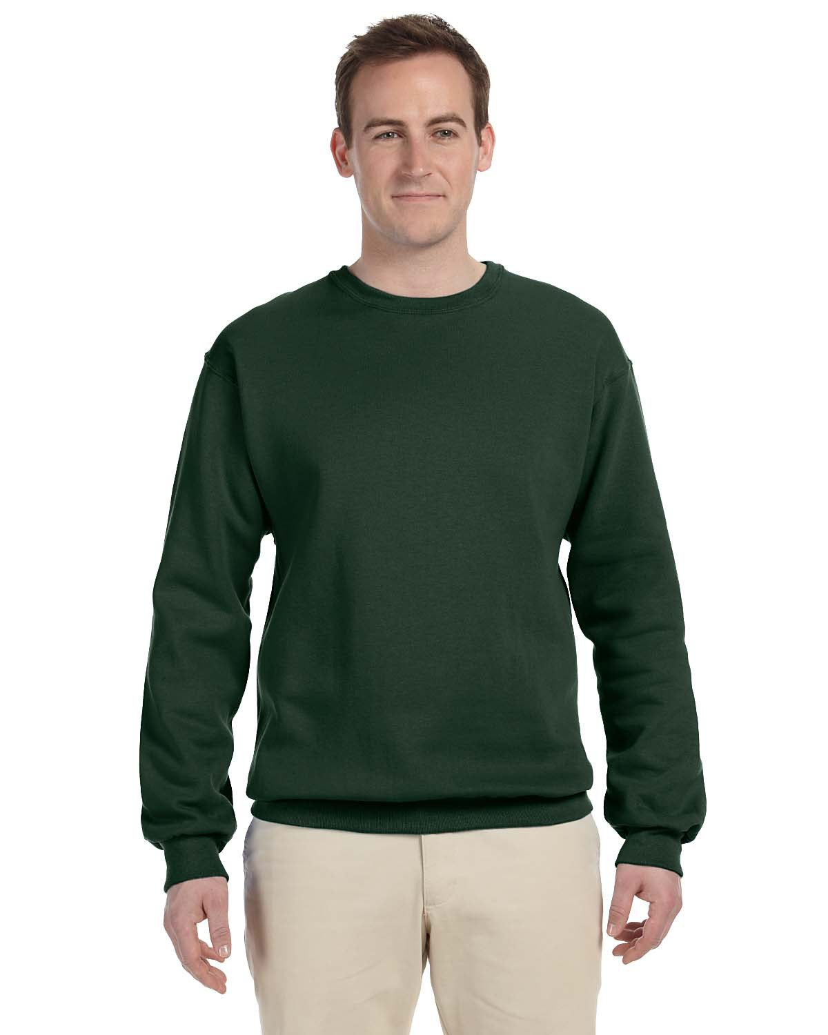 Jerzees Adult 8oz Nublend Fleece Crew-A4