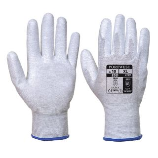 Antistatic PU Palm Glove-