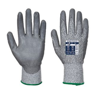 A620 Cut 3 PU Palm Glove-Portwest