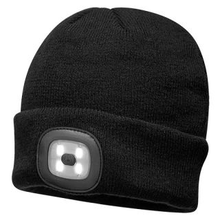 Rechargeable LED Beanie-Portwest