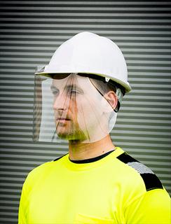 300m APET Helmet Screen (100)-