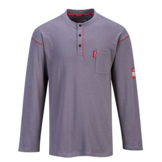 FR02 Crew Neck Button T-Shirt-Portwest