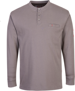 FR Antistatic Henley T-Shirt-Portwest